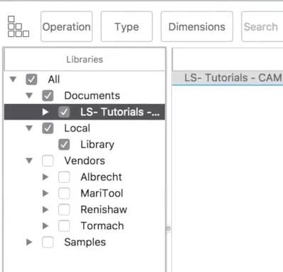 STUCK    Local Library Missing In Fusion 360 Cam Tools - Fusion 360